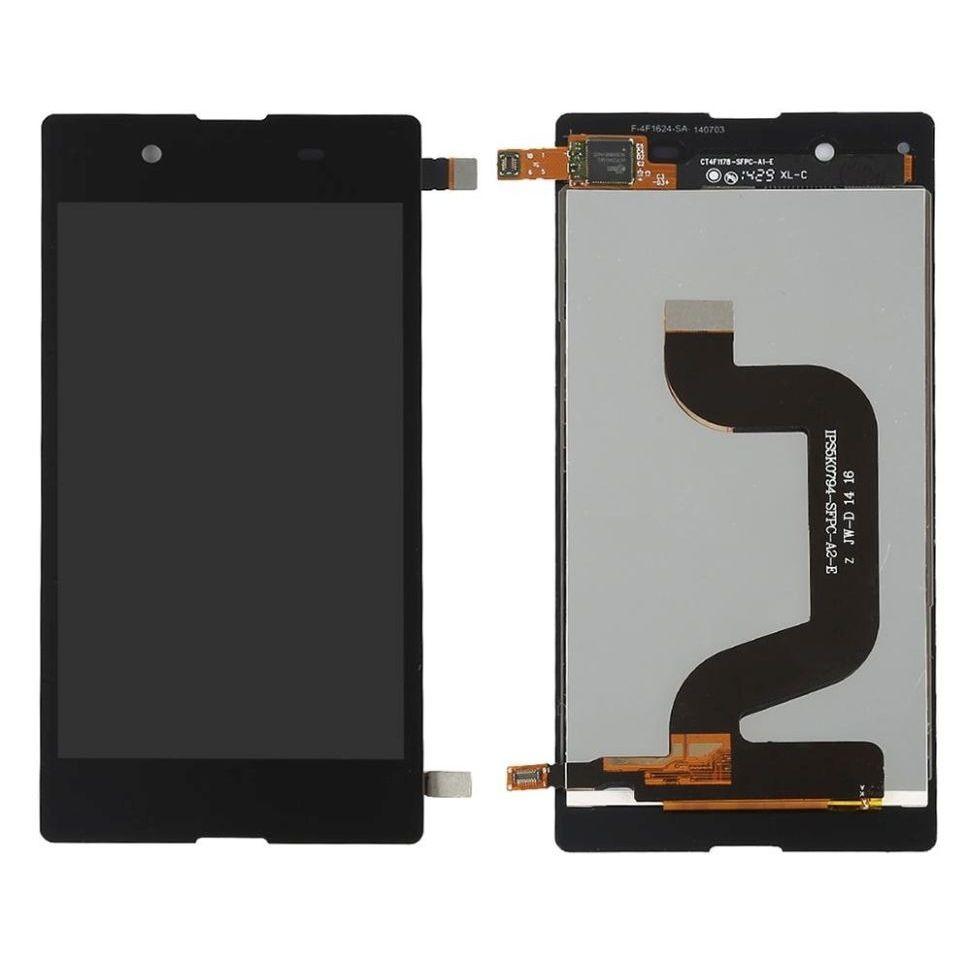 Tela Frontal Sony Xperia E3 D2203 D2212 2243 Preto
