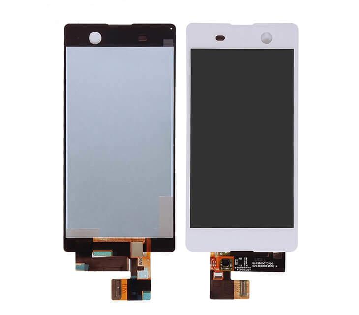 Tela Frontal Sony Xperia M5 E5643 E5663 E5633 E5603 Branco