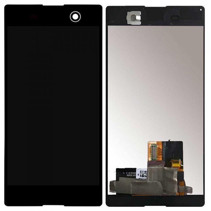 Tela Frontal Sony Xperia M5 E5643 E5663 E5633 E5603 Preto