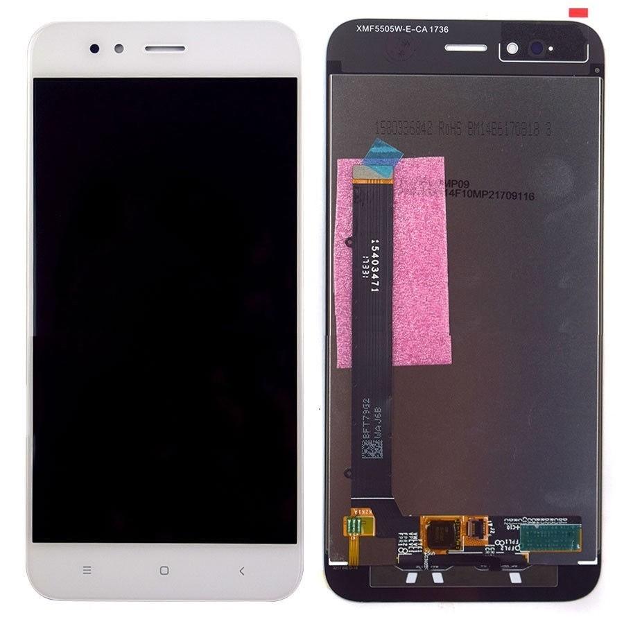 Tela Frontal Xiaomi Mi A1 MDG2 Branco