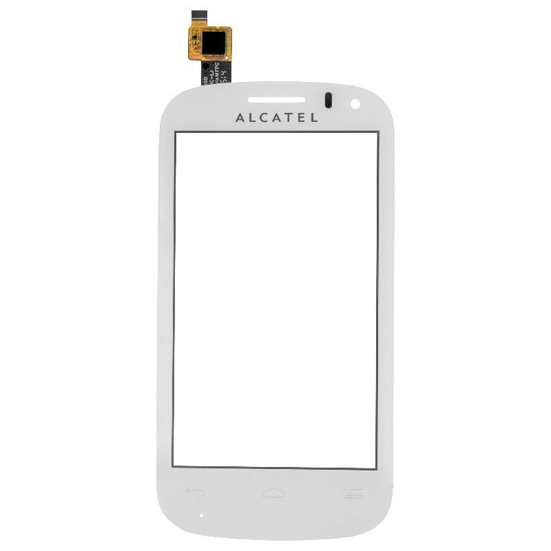 Touch Alcatel 4033 Branco