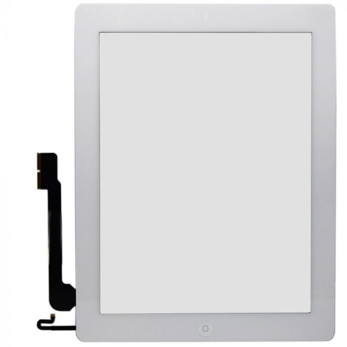 Touch iPad 3 / 4 A1416 A1430 A1403 A1458 A1459 A1460 Branco