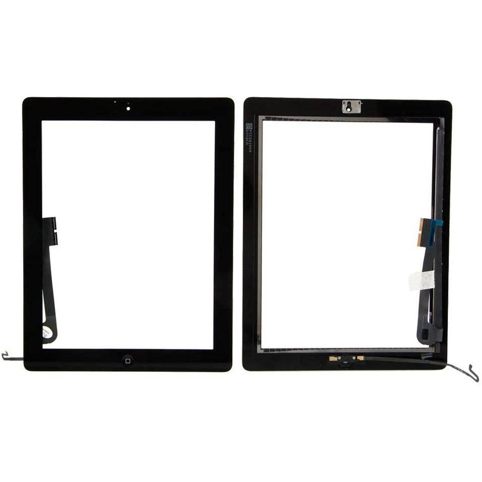 Touch iPad 3 / 4 A1416 A1430 A1403 A1458 A1459 A1460 Preto