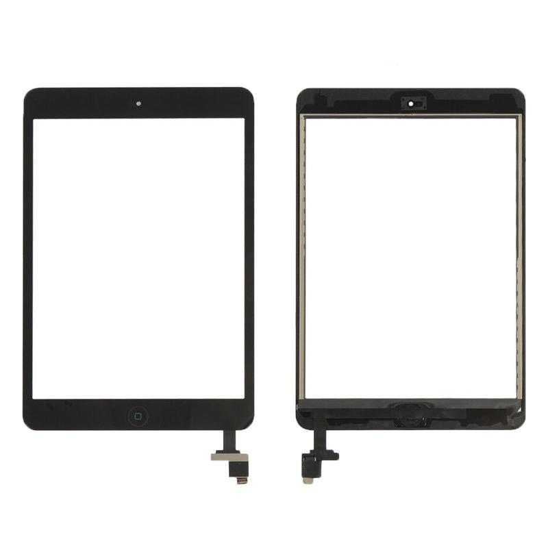 Touch iPad Mini 1 / 2 A1432 A1454 A1455 A1489 A1490 A1491 Preto