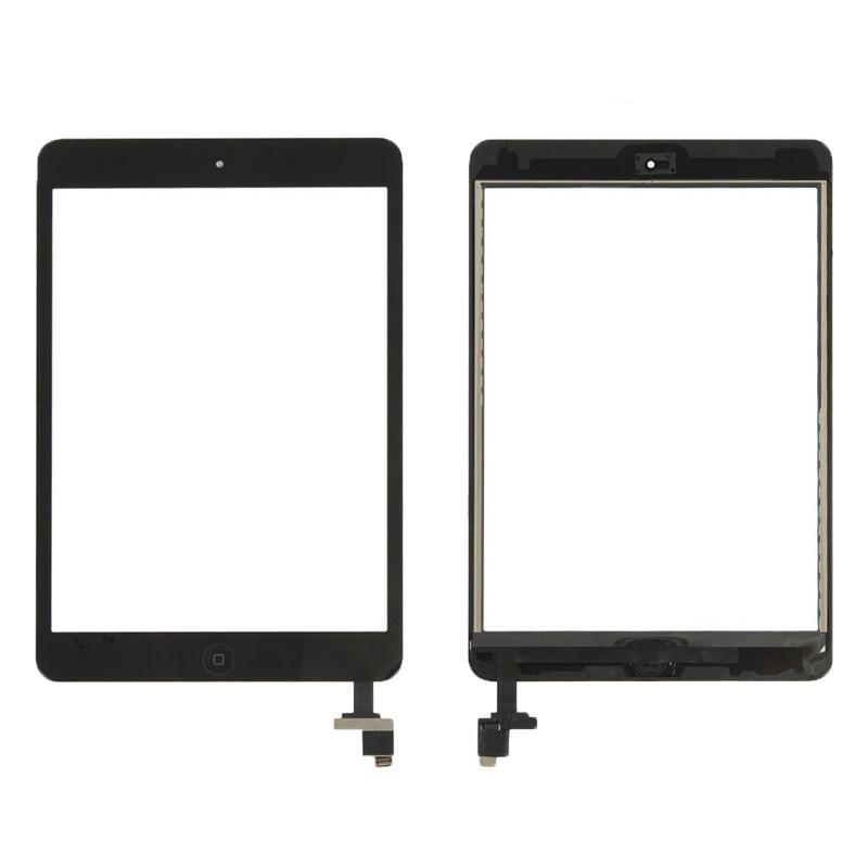 Touch iPad Mini 1 / 2 A1432 A1454 A1455 A1489 A1490 A1491 Preto