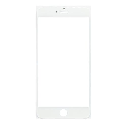 Vidro iPhone 6 Plus Branco c/ Aro