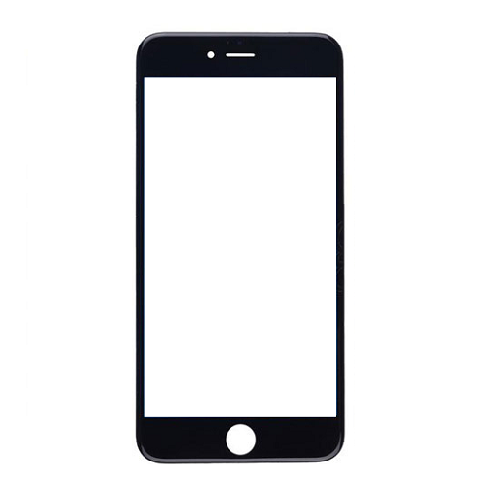 Vidro iPhone 6G / 6S Preto