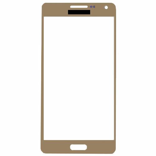 Vidro Samsung A500 A5 Dourado