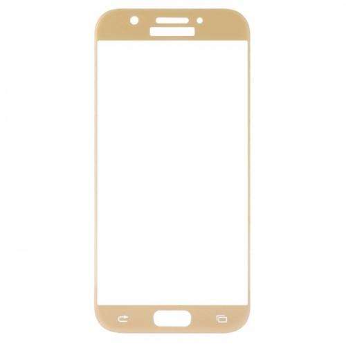Vidro Samsung A7 A720 2017 Dourado