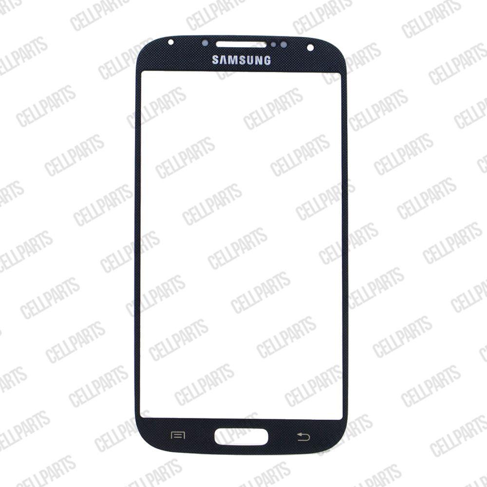 Vidro Samsung i9500 S4 Azul