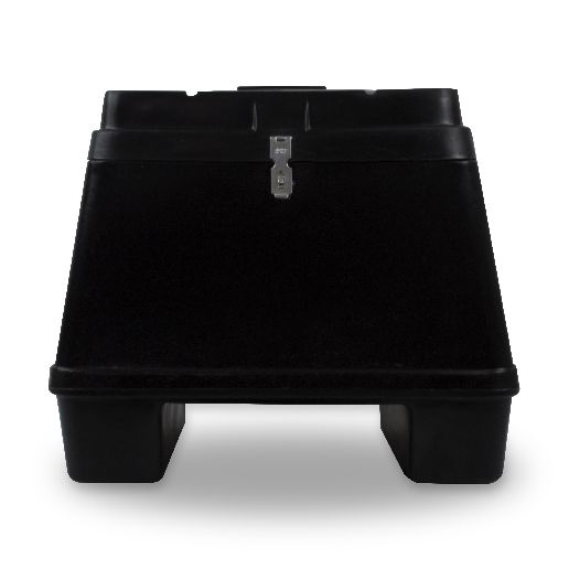 Baú Plástico Para Moto 90 Litros  - WebPlástico