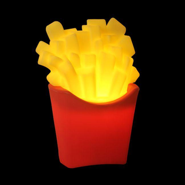 Luminária Batata Frita  - WebPlástico