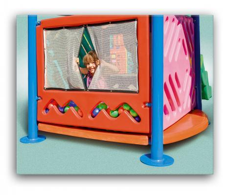 Playground Star Play III (Com escorregador Tunel)  - WebPlástico