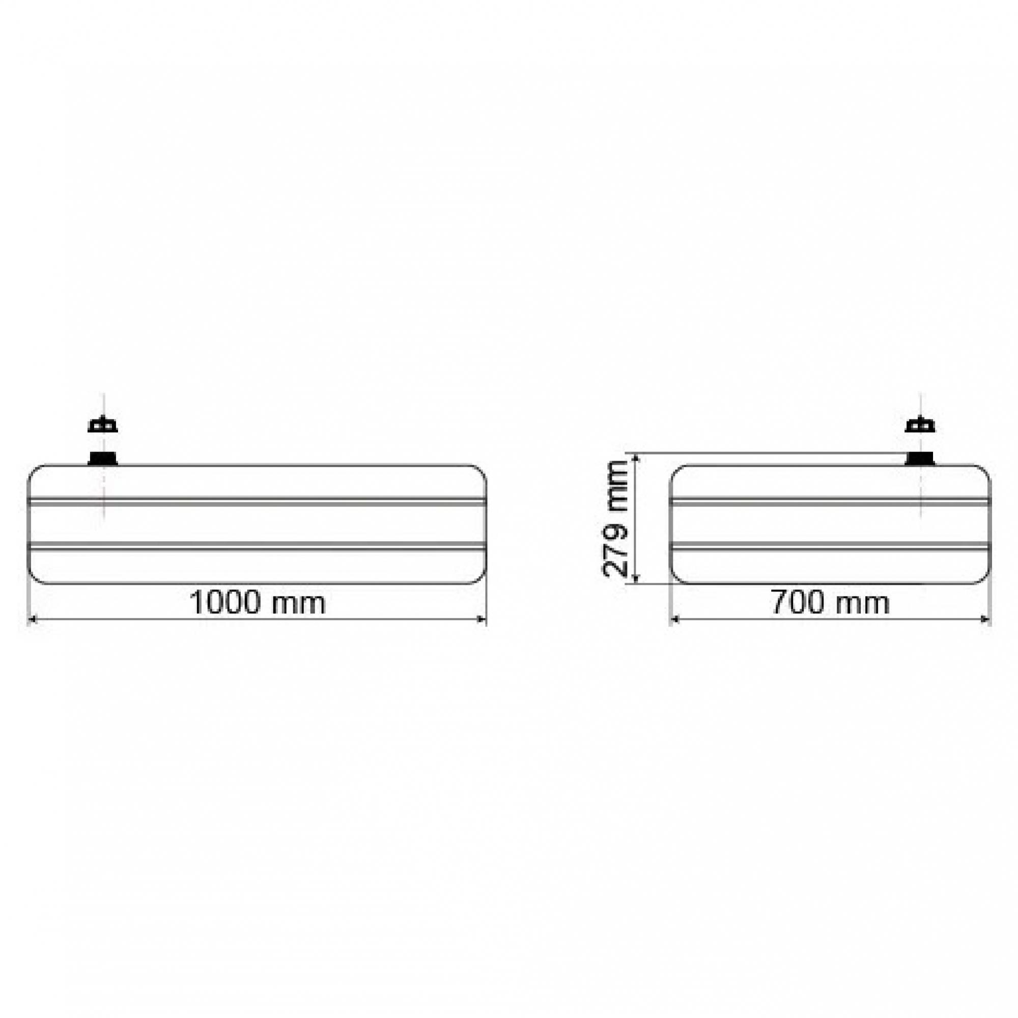 Tanque De 175 Litros  - WebPlástico