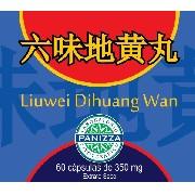 Liuwei Dihuang Wan 350mg 60 cápsulas     Panizza