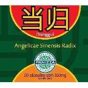Dang Gui - Angelicae Sinensis Radix 350mg 60 cápsulas - ANGÉLICA EM CAPSULAS - Panizza