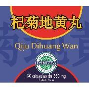 Qiju Dihuang Wan 350mg 60 cápsulas Panizza