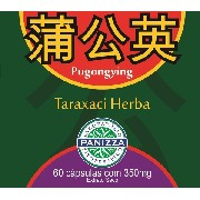 Pu Gong Ying - Taraxaci Herba (Taraxacum Mongolicum) 350mg 60 cápsulas - DENTE DE LEÃO EM CÁPSULAS - Panizza