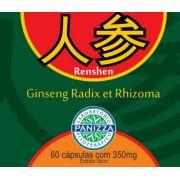 REN SHEN (Ginseng Radix Et Rhizoma) 350mg 60 cápsulas Panizza