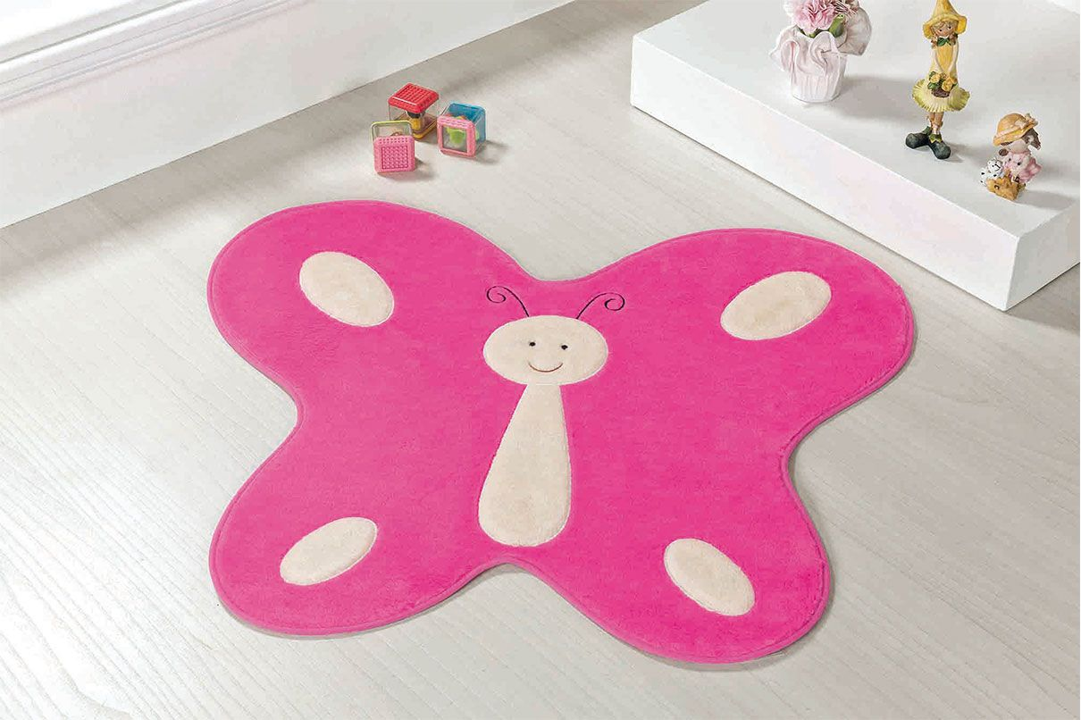 Tapete Infantil Borboleta Pink