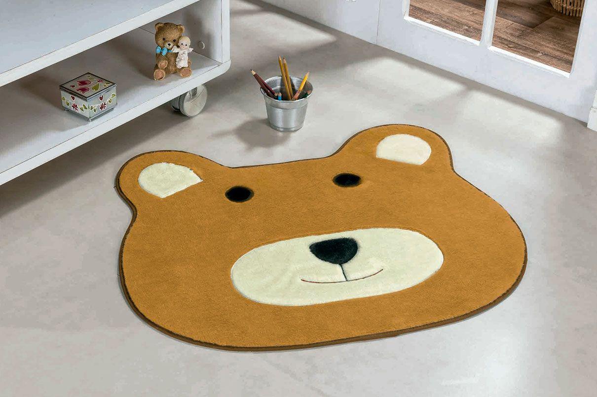 Tapete Infantil Urso Caramelo