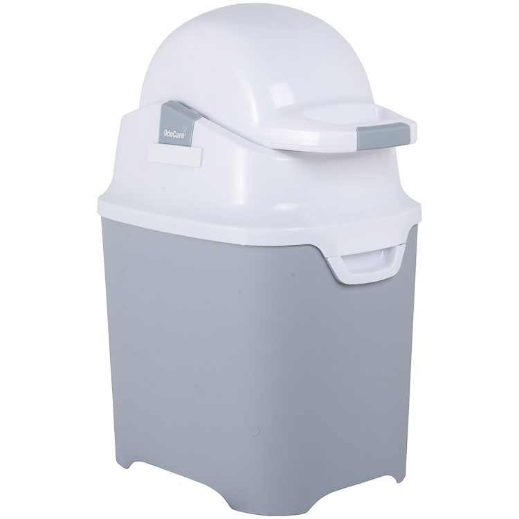 lixeira OdoCare one - Anti Odor para 40 Fraldas Branca