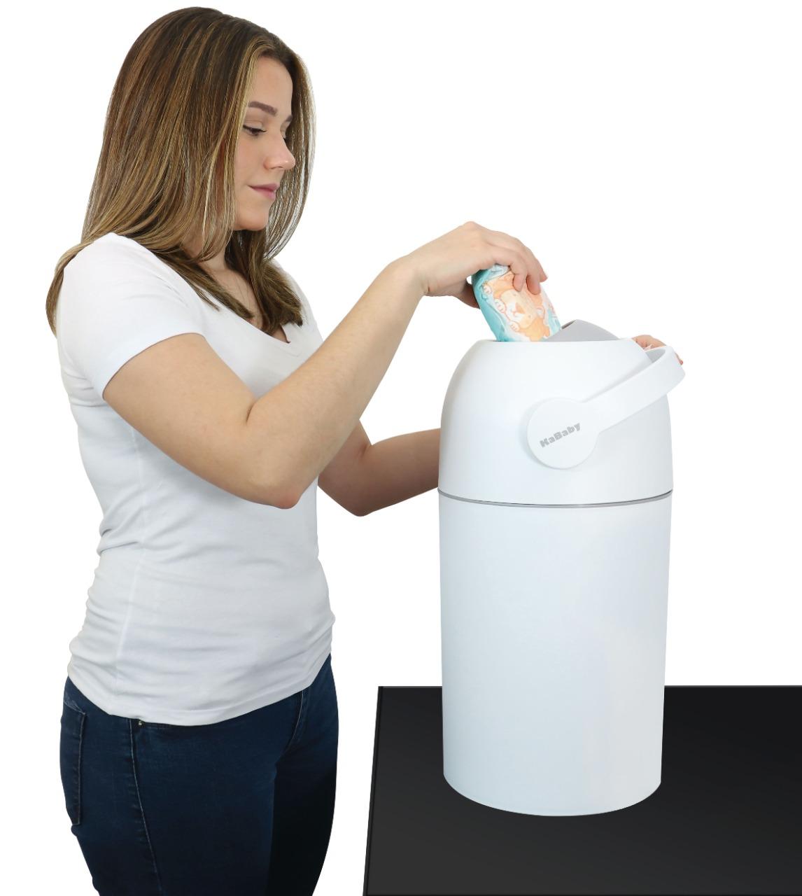 Lixo Magico Branco KaBaby Anti Odor - 25 fraldas