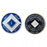 Medalhão triplate Blue EN-6300