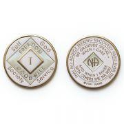 Medalhão triplate Pink EN-6600