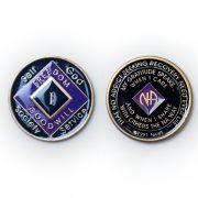Medalhão triplate Purple EN-6200