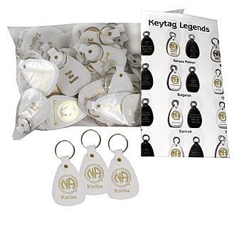 KEYTAGS WELCOME 41 LANGUAGES EN-4100-KIT