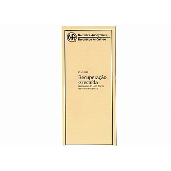 RECUPERACAO E RECAIDA PB-3106