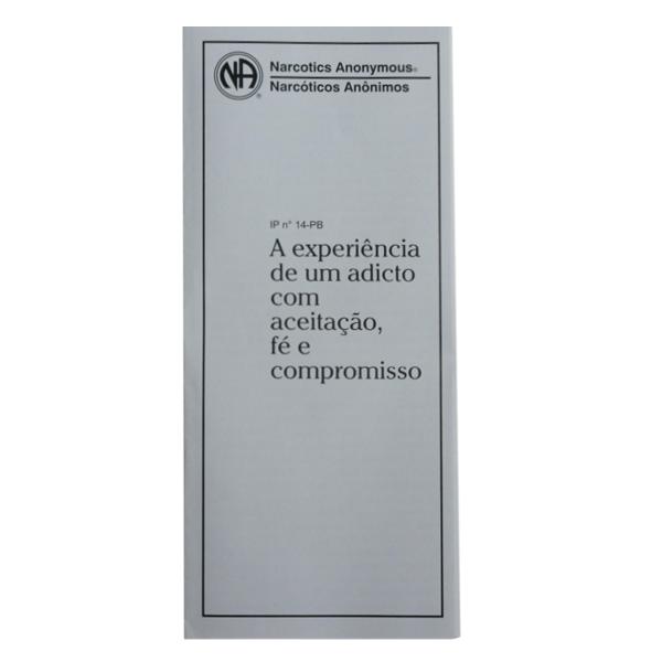 A EXPERIENCIA DE UM ADICTO PB-3114