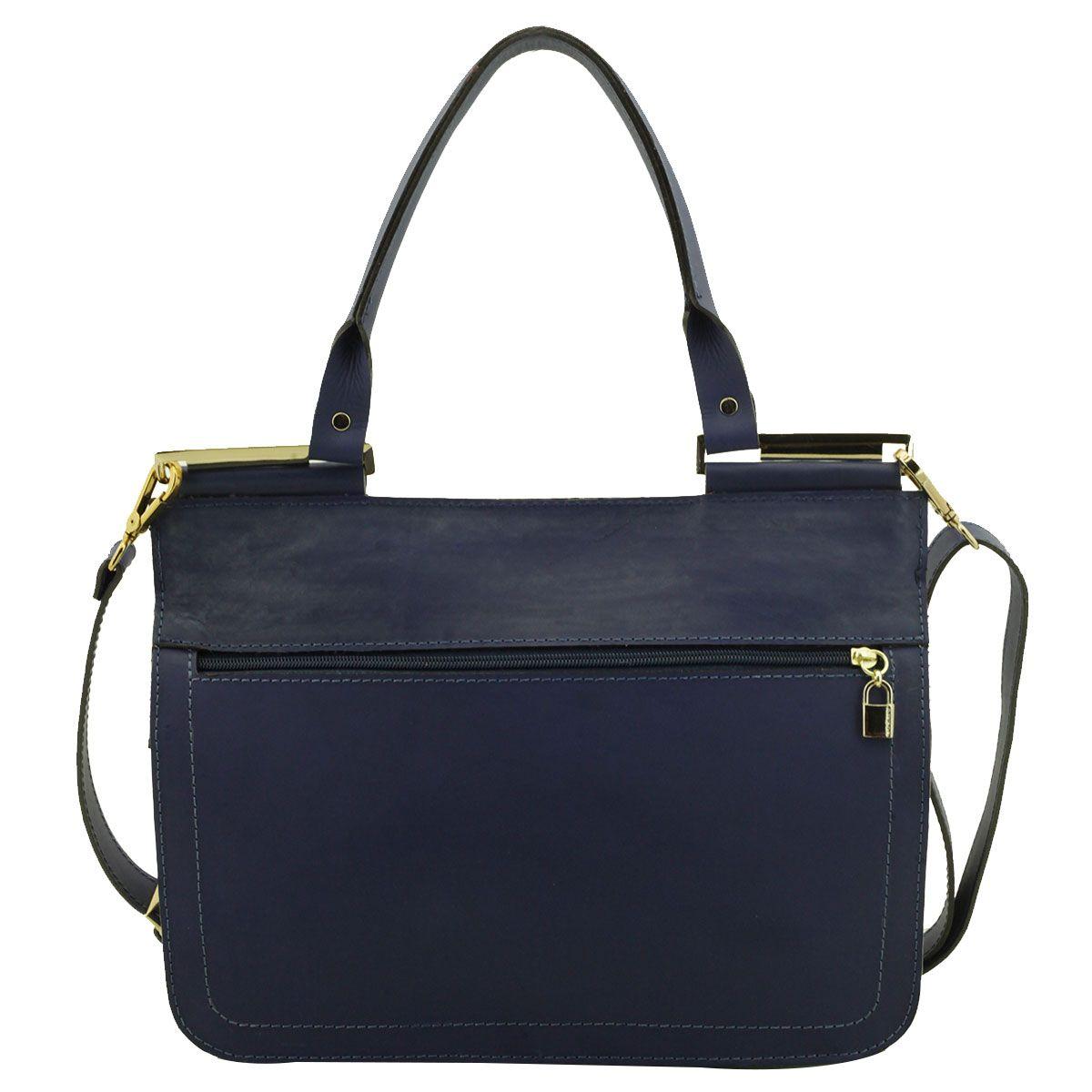 Bolsa De Couro Legitimo Azul : Bolsa couro envelope azul marinho