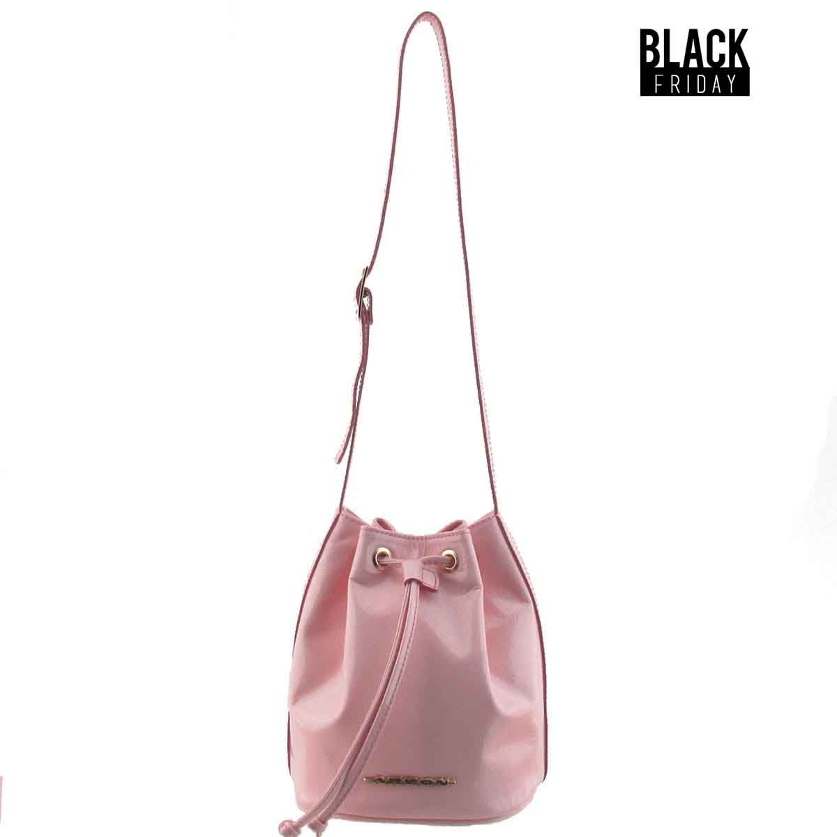 Bolsa saco pequena rosa - Black friday porta di roma ...