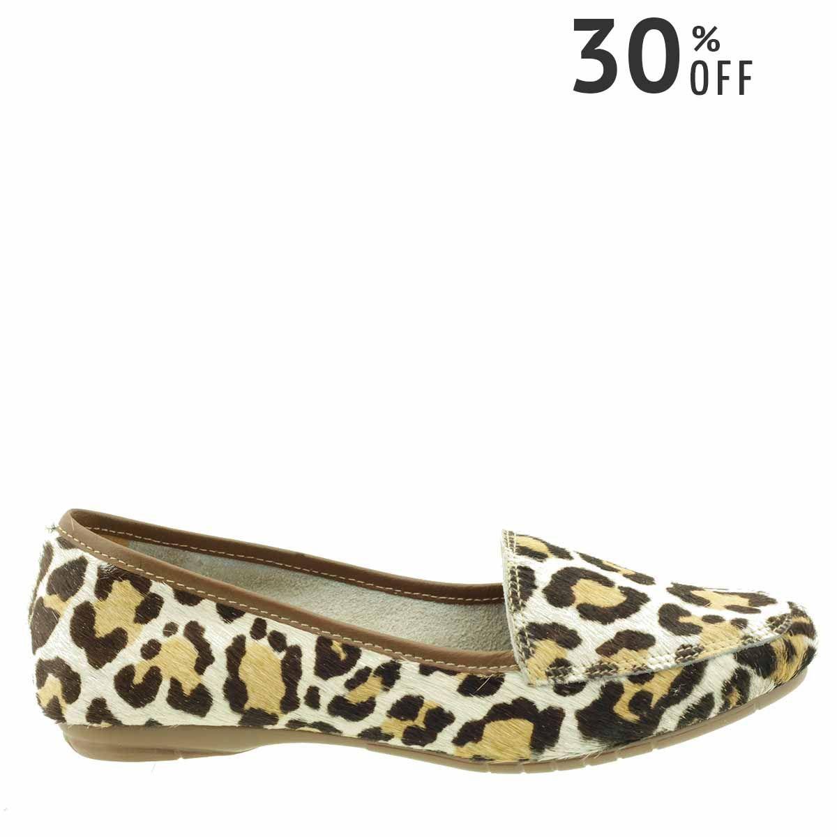 Mocassim Feminino Leopardo