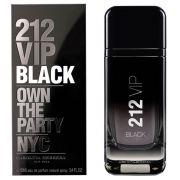 212 VIP Black Carolina Herrera Eau de Parfum - Perfume Masculino 100ml