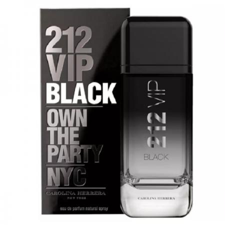 212 VIP Black Carolina Herrera Eau de Parfum - Perfume Masculino 200ml