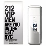 212 VIP Men Carolina Herrera Eau de Toilette - Perfume Masculino 50ml