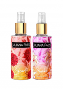 2 Body Splash Juliana Paes Encanto Flores Exóticas e Sonho Baunilha Cremosa 200ml