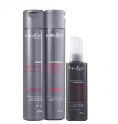 Acquaflora Controle do Volume Shampoo+Cond 300ml+Defrizante 120ml