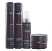 Acquaflora Controle do Volume Shampoo+Cond 300ml+Masc 250ml+Defrizante 120ml