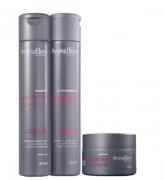 Acquaflora Controle do Volume Shampoo+Cond 300ml+Mascara 250ml