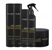 Acquaflora Hidratação Intensiva Shampoo+Cond 300ml+Masc 250ml+Hidrat. s/ Enxague+Spray s/ Enxague 240ml