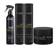 Acquaflora Hidratação Intensiva Shampoo+Cond 300ml+Masc 250ml+Spray s/ Enxague 240ml