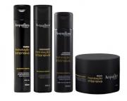 Acquaflora Hidratação Intensiva Shampoo+Condicionador 300ml+Mascara 250ml+Hidrat. s/ Enxague 240ml