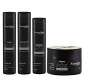 Acquaflora Pós-Coloração Shampoo+Condicionador 300ml+Mascara 250ml+Hidrat. s/ Enxague 240ml