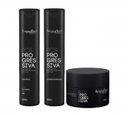 Acquaflora Pos-Progressiva Shampoo+Condicionador 300ml+Mascara 250ml