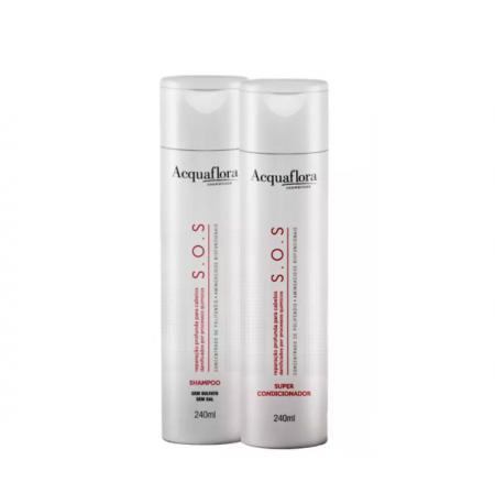 Acquaflora S.O.S Reparação Profunda Shampoo+Condicionador 240ml