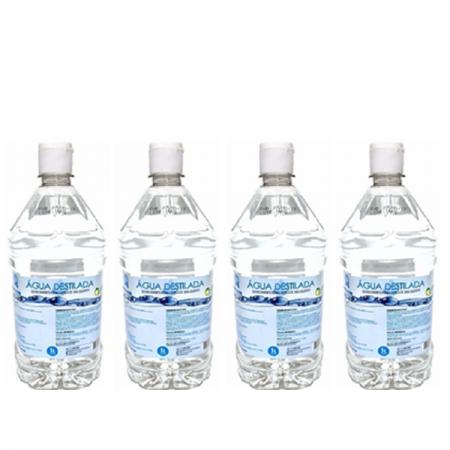 Água Destilada 1L - Asfer C/4